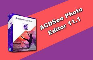 ACDSee Photo Editor 11.1