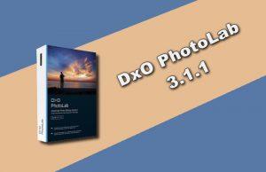 DxO PhotoLab 3.1.1