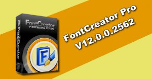 FontCreator Professional 12.0.0.2562