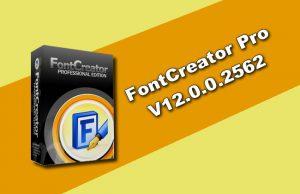 FontCreator Professional 12.0.0.2562
