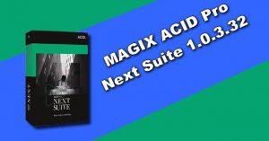 MAGIX ACID Pro Next Suite 1.0.3.32