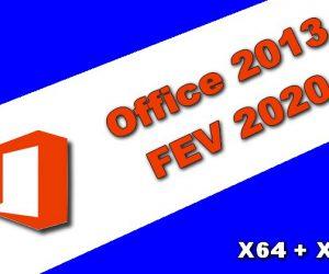 Microsoft Office 2013 FEV 2020