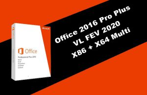Office 2016 Pro Plus VL 2020