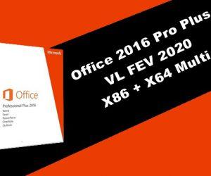 Office 2016 Pro Plus VL 2020