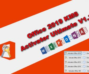 Office 2019 KMS Activator Ultimate 1.3