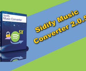 Sidify Music Converter 2.0.5