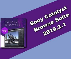 Sony Catalyst Browse Suite 2019.2.1
