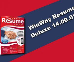 WinWay Resume Deluxe 14.00.018 Torrent