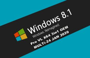 Windows 8.1 Pro VL X64 Torrent