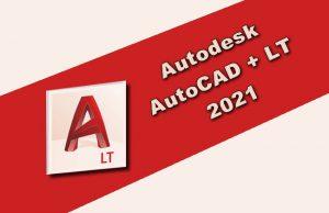 Autodesk AutoCAD + LT 2021