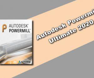 Autodesk Powermill Ultimate 2020