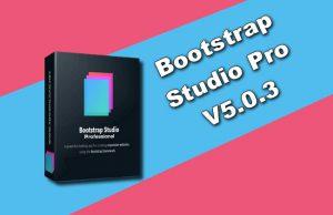 Bootstrap Studio Pro V5.0.3