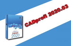 CADprofi 2020.03