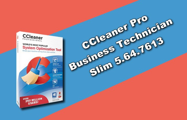 Photo of CCleaner Pro Business Technician Slim