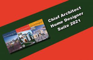 Chief Architect Home Designer Suite 2021