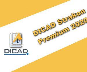 DICAD Strakon Premium 2020