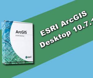 ESRI ArcGIS Desktop 10.7.1 Torrent
