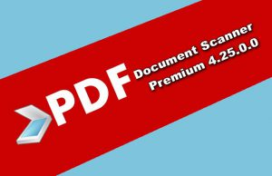 PDF Document Scanner Premium 4.25.0.0