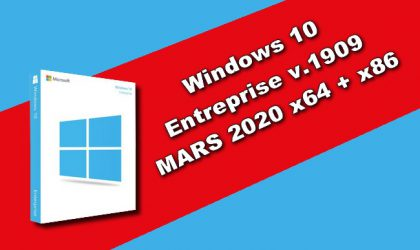 Windows 10 Entreprise v.1909 MARS 2020