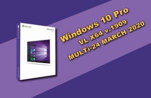 Windows 10 Pro VL X64 v.1909 Torrent