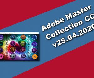 Adobe Master Collection CC v25.04.2020