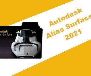 Autodesk Alias Surface 2021