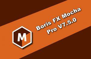 Boris FX Mocha Pro v7.5.0