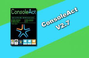ConsoleAct v2.7