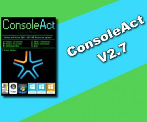 ConsoleAct v2.7