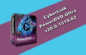 CyberLink PowerDVD Ultra v20.0.1519.62