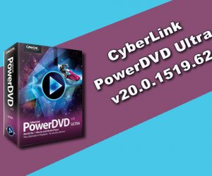 CyberLink PowerDVD Ultra v20.0.1519.62