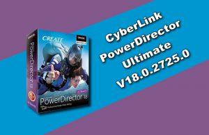 CyberLink PowerDirector Ultimate 18.0.2725.0