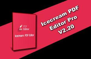Icecream PDF Editor Pro v2.20