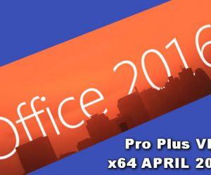 MS Office 2016 Pro Plus VL x64 APRIL 2020