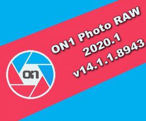 ON1 Photo RAW 2020.1 Torrent