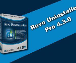 Revo Uninstaller Pro 4.3.0