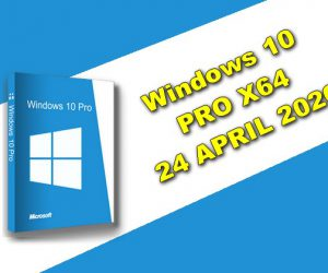 Windows 10 PRO X64 24 APRIL 2020