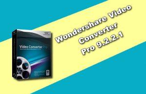 Wondershare Video Converter Pro 9.2.2.1
