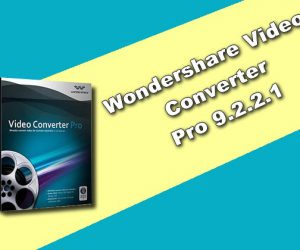 Wondershare Video Converter Pro 9.2.2.1