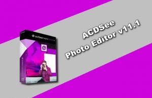 ACDSee Photo Editor v11.1 Torrent
