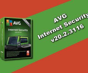 AVG Internet Security v20.2.3116