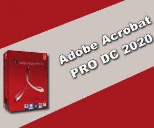 Adobe Acrobat PRO DC 2020 Torrent