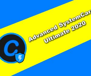 Advanced SystemCare Ultimate 2020 Torrent