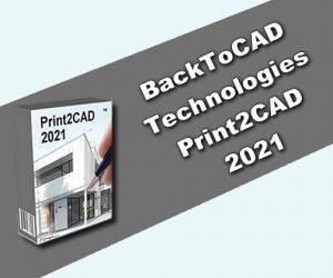 BackToCAD Technologies Print2CAD 2021