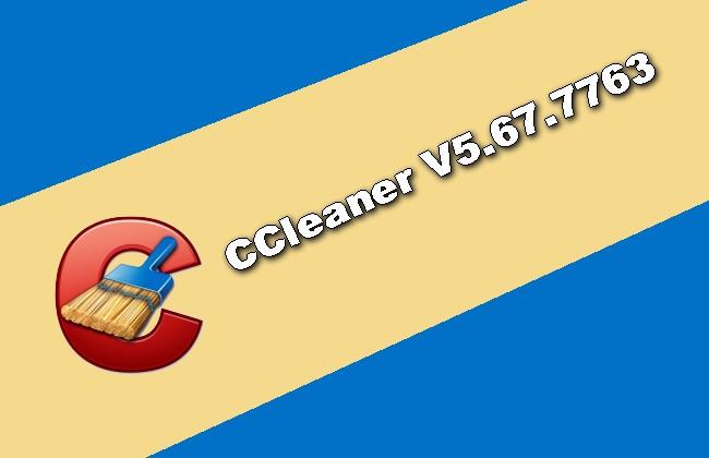 CCleaner V5.67.7763 Torrent