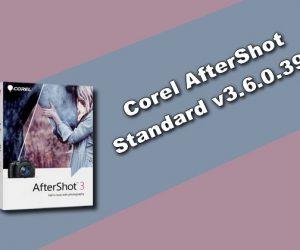Corel AfterShot Standard v3.6.0.394