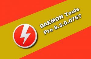 DAEMON Tools PRO 8.3.0.0767
