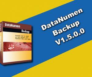 DataNumen Backup v1.5.0.0