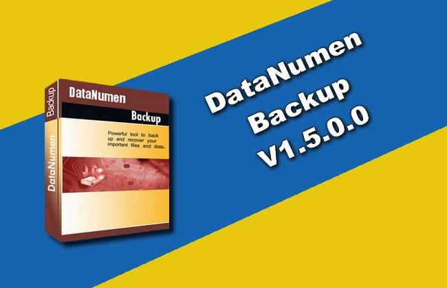 Photo of DataNumen Backup v1.5.0.0 Torrent