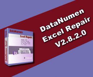 DataNumen Excel Repair 2.8.2.0